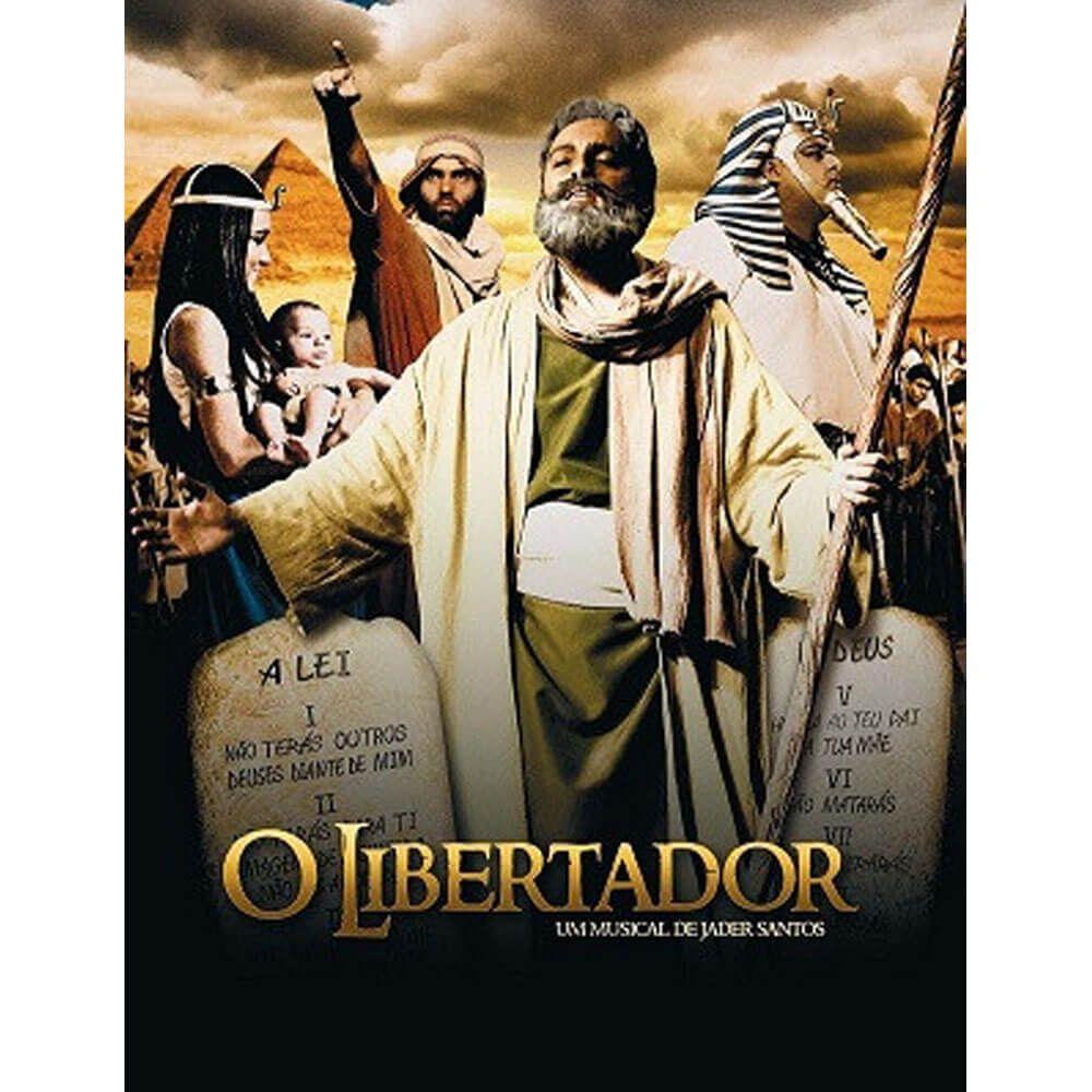 DVD O Libertador - Um Musical de Jader Santos