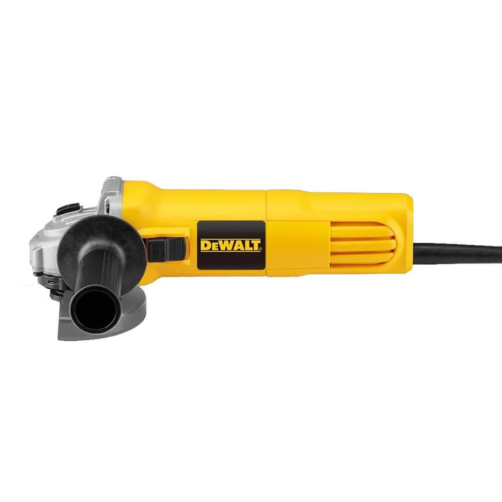 """Esmerilhadeira Angular 4.1/2"""" 115mm Profissional 220V 750W DeWalt DWE4010-B2 Amarela"""