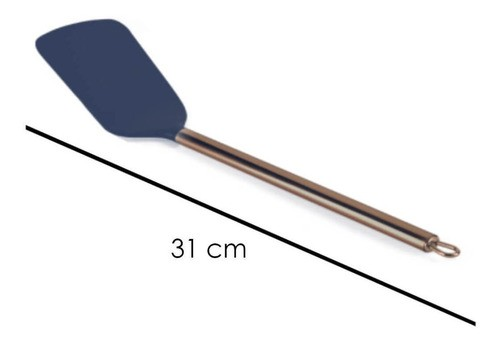 Espátula Azul Gold 30 cm BPA Free Plasvale