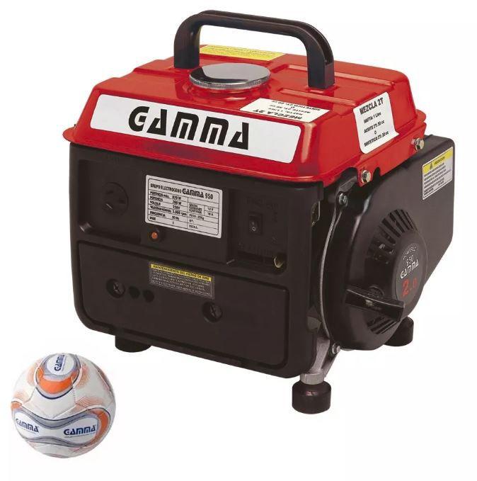 Gerador A Gasolina 950 Portátil 2hp Motor 2 Tempo Gamma 220v