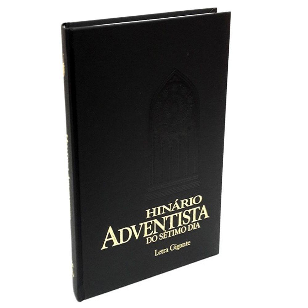 Hinário Adventista Sem Partitura Letra Gigante Capa Dura Cpb