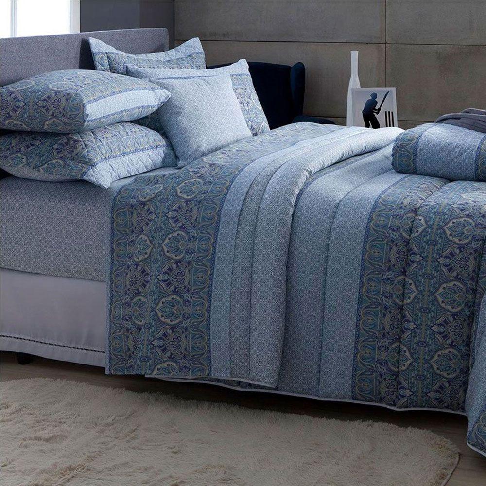 a28afc8897 produto jogo de cama solteiro 3 pecas 140 fios marrom e branco anita ...