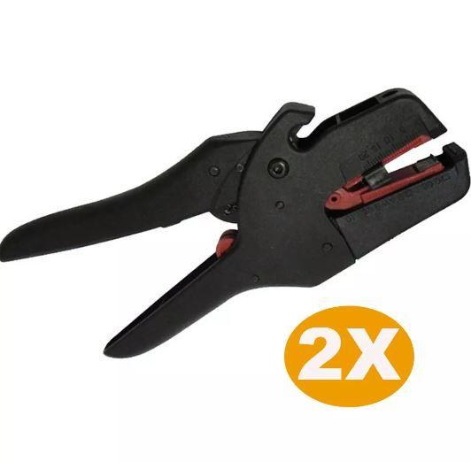 Kit 2 Alicate Decapador De Fios 0.2 A 6mm 2 Em 1 Hy 0525