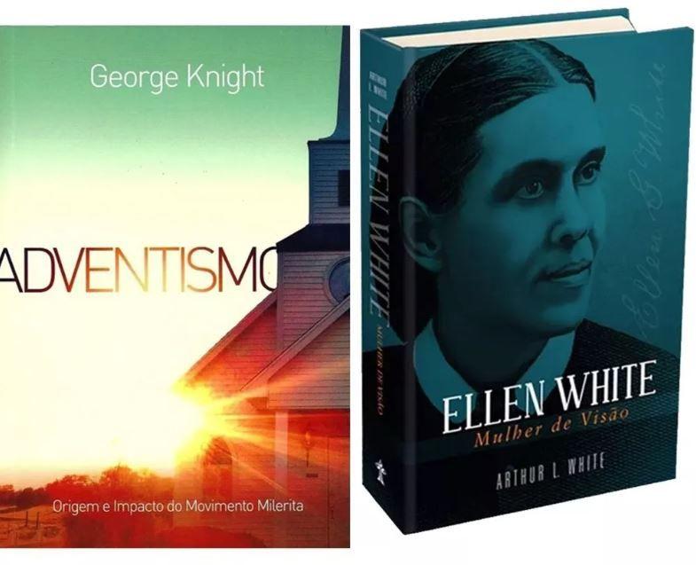 Kit 2 Livros Ellen W. Mulher De Visão E Adventismo