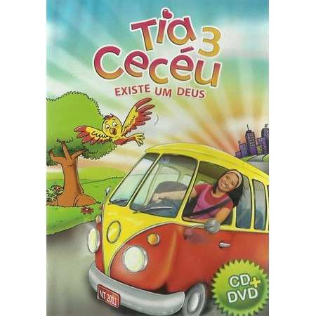 Kit 3 Dvd´s Tia Ceceu Volume 1, 3 e Volume 4
