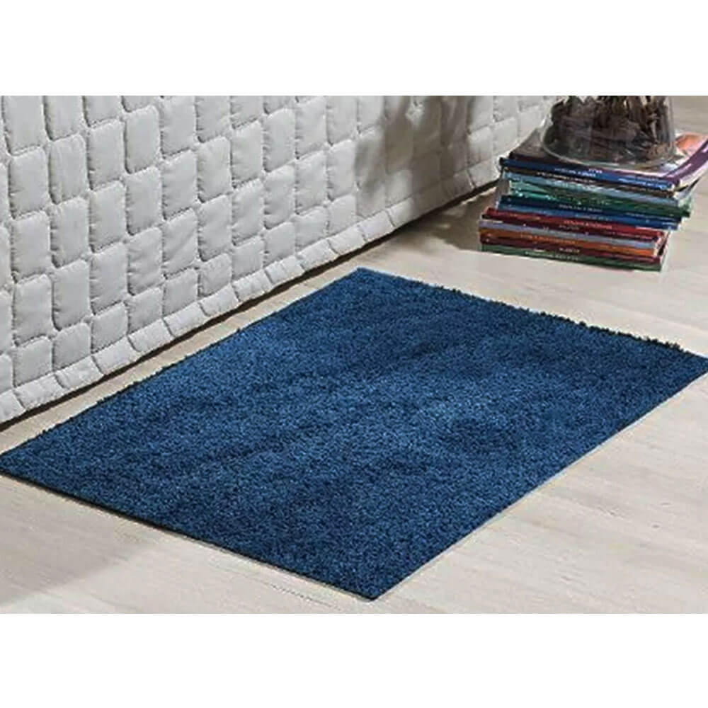 Kit 4 Passadeiras 50 X 100 Cm Classic 2 Azul Jeans 2 Bege