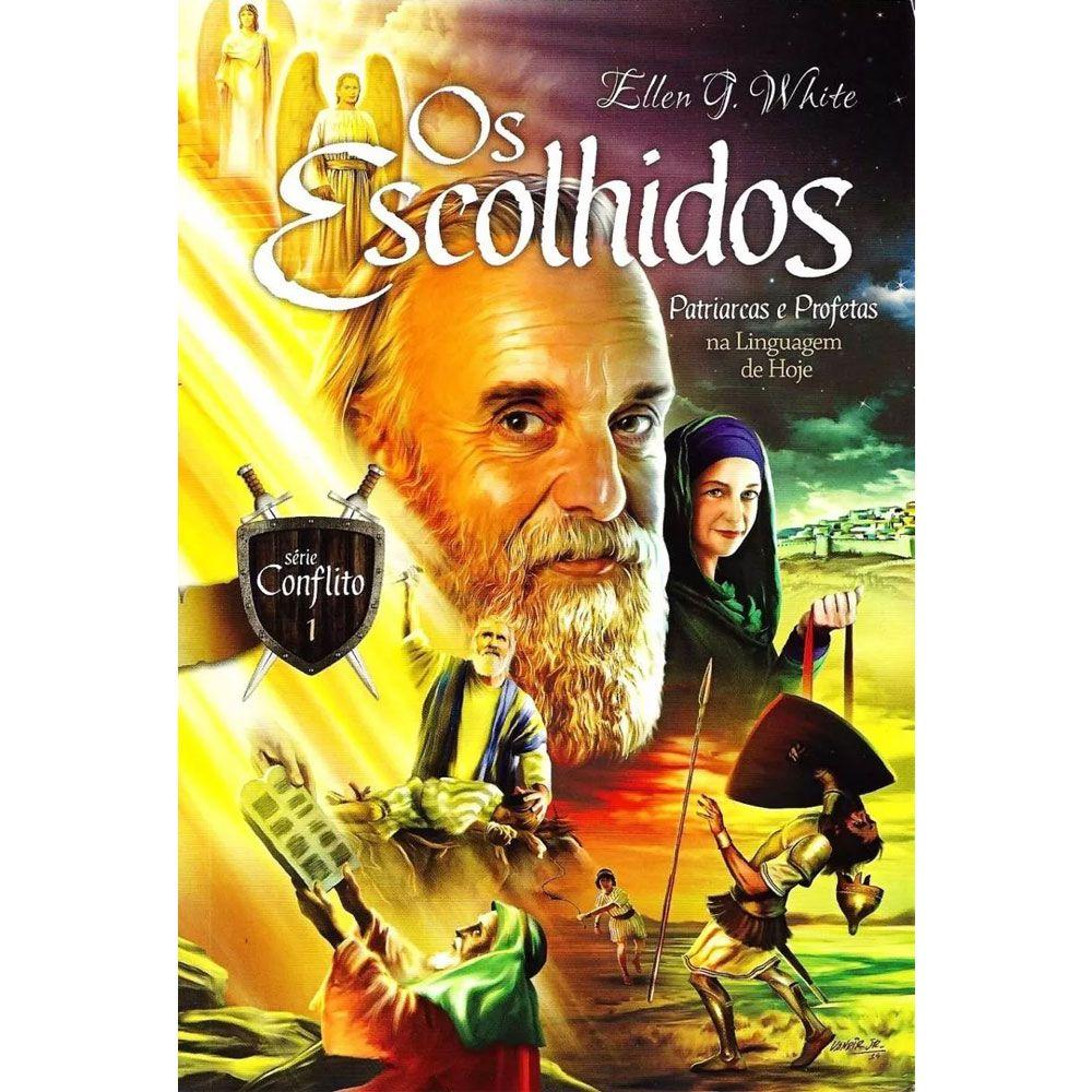 Kit 4 Volumes Livro Da Serie Conflito- Ellen G. White
