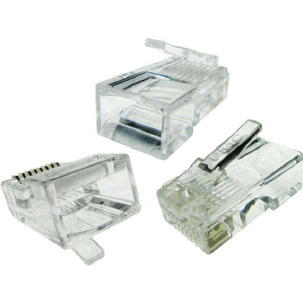 Kit Alicate Crimpa Decapador Coaxial E 20 Rj45 20 Rg59