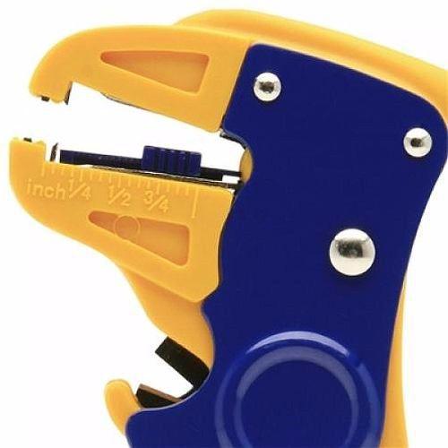 Kit Alicate Crimpar Testador RJ45 Cortador fios 0,5 a 6 mm e Decapador Rg6 Rg59