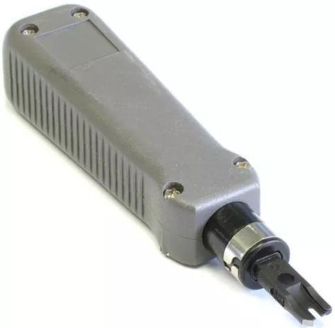Kit Alicate de Inserção Punch Down e Testador de Cabos de Rede RJ45