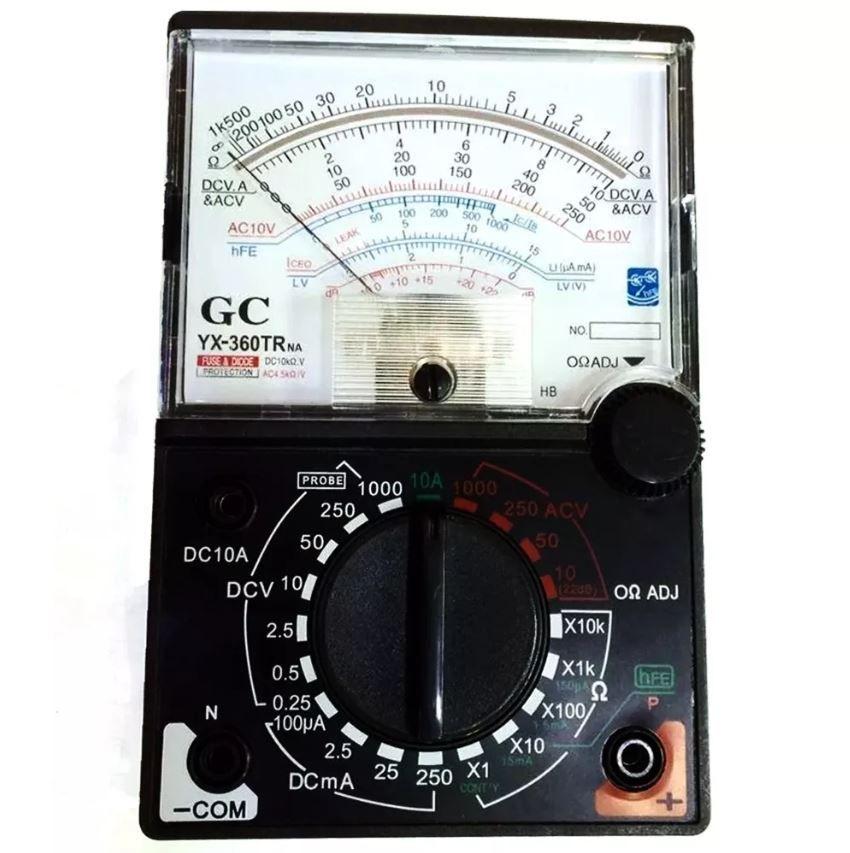 Kit Aperimetro Multimetro Digital Gc9205 Analógico Yx360trna