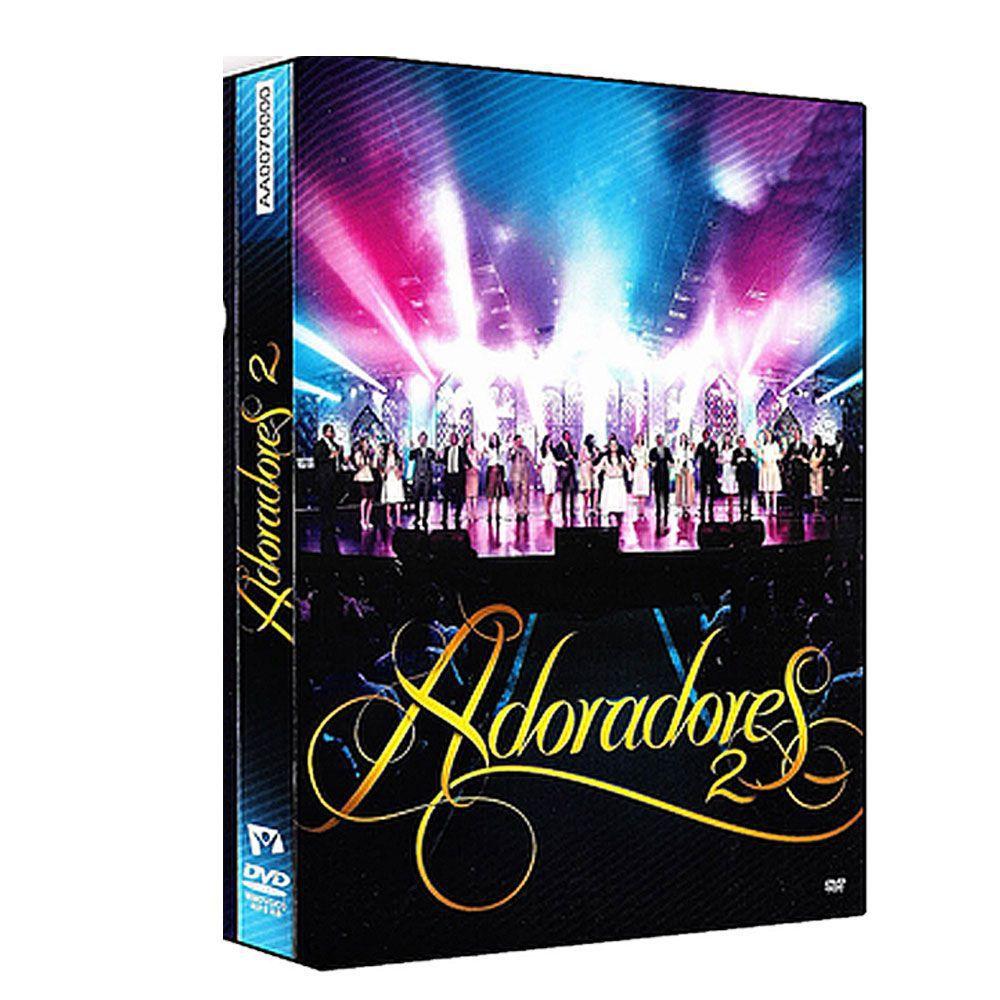 Kit Box Dvd e Cd Adoradores E Adoradores 1 E 2 Novo Tempo