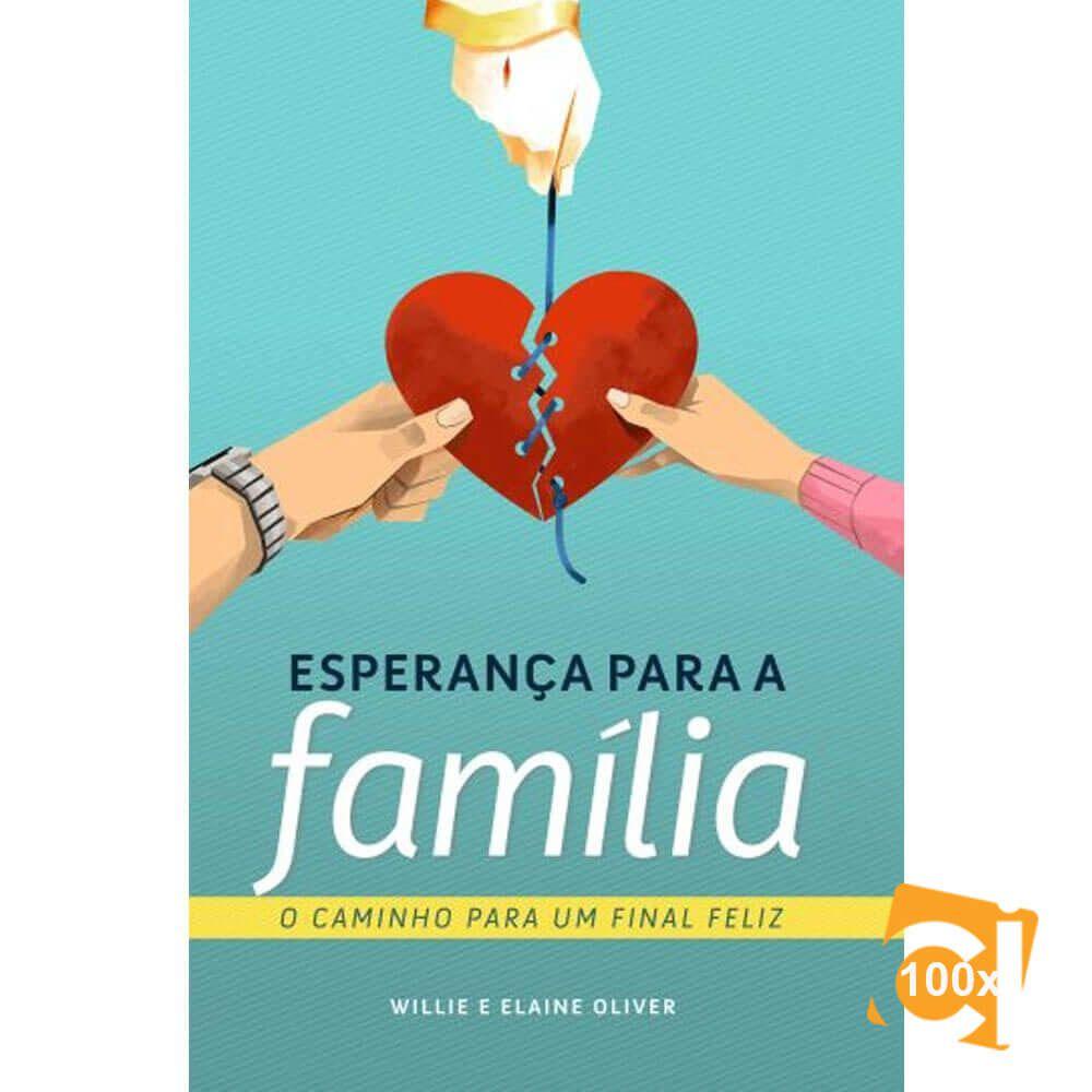 Kit Com 100 Livros Esperança Para A Família Cpb Novo