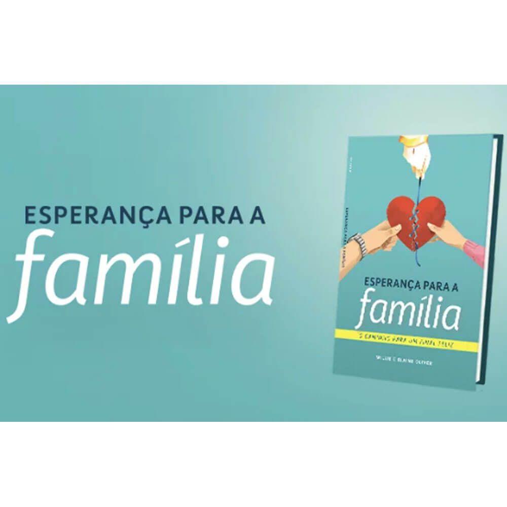 Kit com 10 Livros Esperança Para A Família CPB