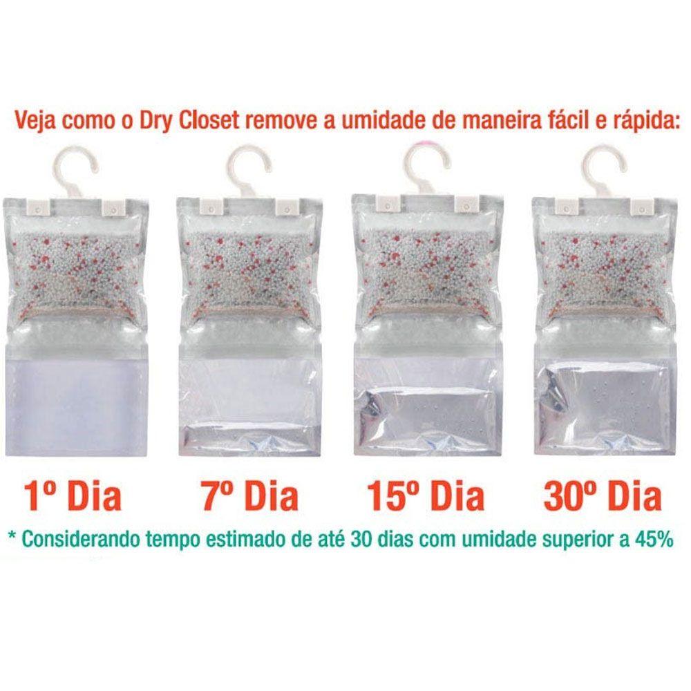 Kit Com 5 Desumidificador Para Armário Dry Closet Anti Mofo
