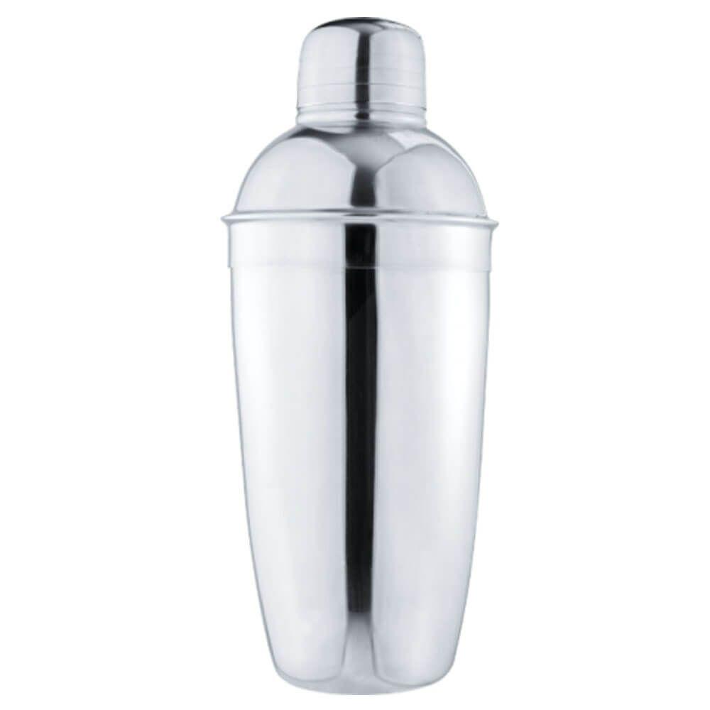 Kit Coqueteleira Dosador Coador de Bebidas Inox Attuale