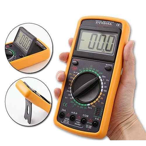 Kit Multímetro Digital Gc-9205 E Multimetro Analogico 1000a