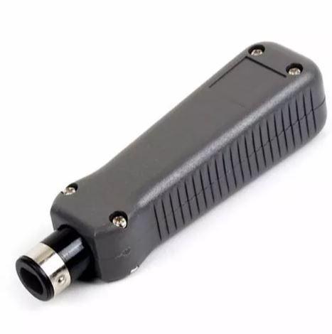 Kit Testador Bnc Rj45 Rj11 E Alicate Inserção Punch Down