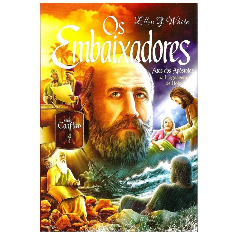 Livro Os Embaixadores Atos dos Apóstolos Série Conflito Volume 4