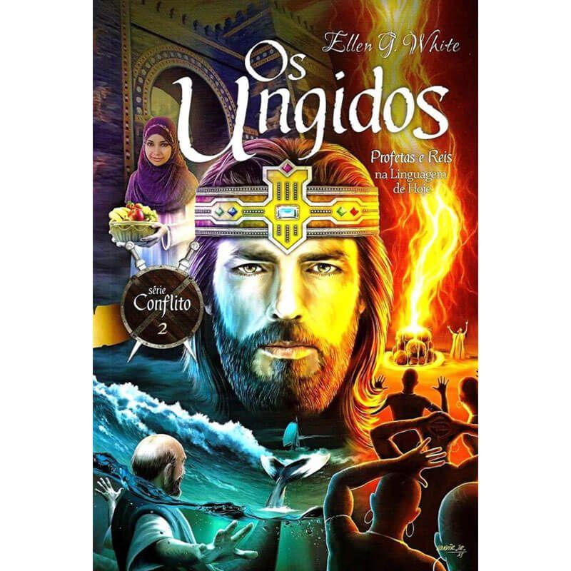 Livros Os Escolhidos e Os Ungidos Série Conflito