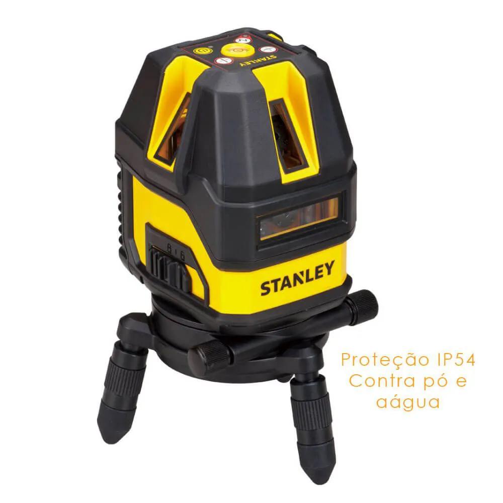 Nível Laser Multi-linhas 10M de Alcance Com Maleta e Acessórios Stanley STHT77512