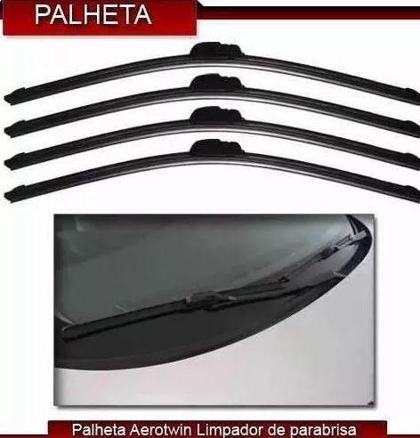 Palheta Flexível Silicone Tipo Aerotwin Limpador Parabrisa