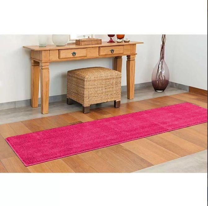 Tapete Passadeira Classic 66 x 230 cm Pink