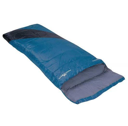 Saco De Dormir 4ºc A 10ºc Liberty Preto/Azul Nautika