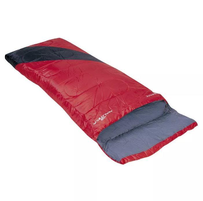 Saco De Dormir 4ºc A 10ºc Liberty Vermelho/Preto Nautika