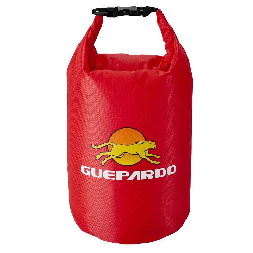 Saco Estanque Impermeável 5 Litros Vermelho Keep Dry Guepardo