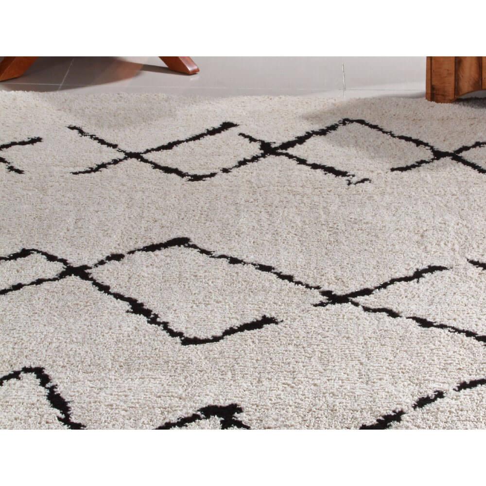 Tapete para Sala 200 x 250 cm Art Black e White Desenho 02 Oasis
