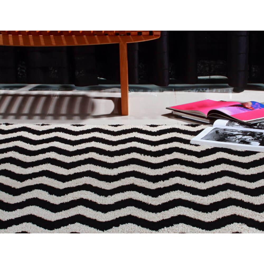 Tapete para Sala 200 x 250 cm Art Black e White Oasis