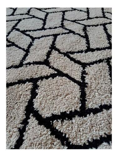 Tapete para Sala 200 x 250 cm Art Perola Oasis