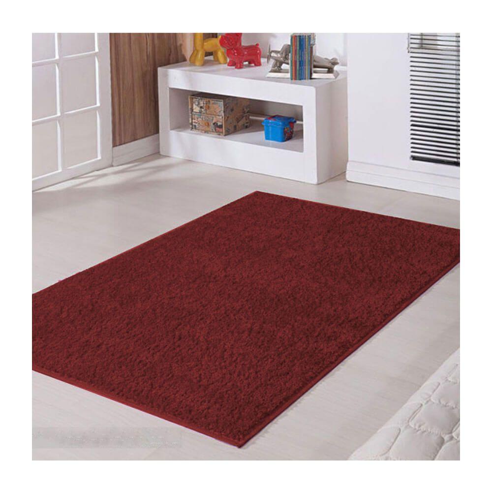 Tapete para Sala Classic 1,50 x 2,00 m Vermelho Marsala Oasis