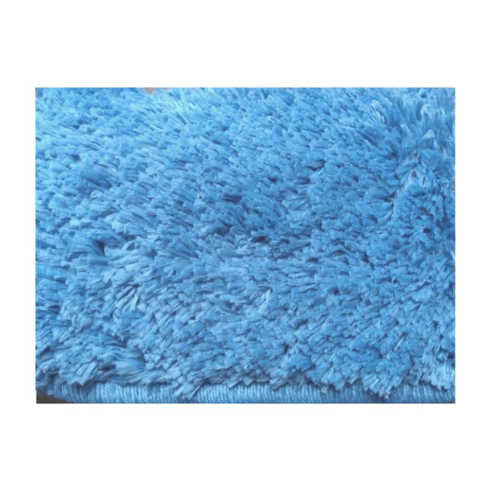 Tapete para Sala Passadeira Classic 0,50 x 2,00 m Azul Delave Oasis