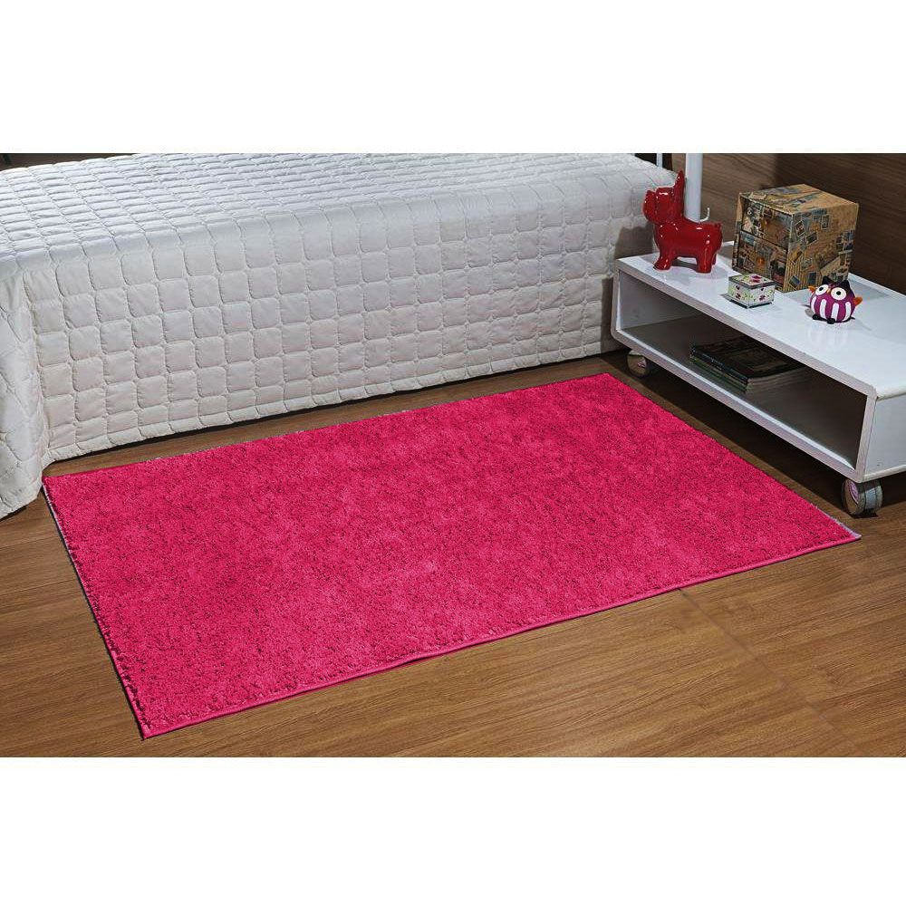 Tapete Passadeira 50 x 100 Classic Rosa Pink