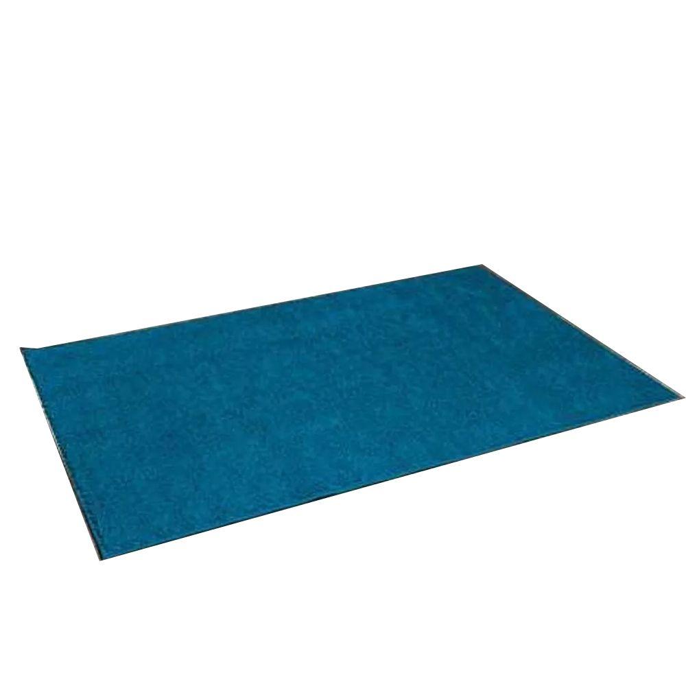 Tapete Passadeira 50 X 100 cm Classic Azul Turmalina Oasis
