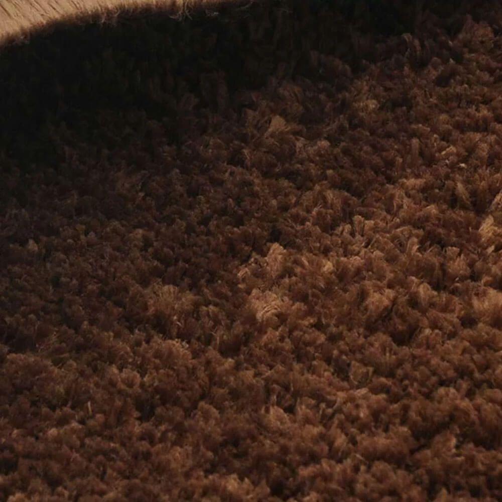 Tapete Passadeira 50 X 100 cm Classic Marrom Castor Oasis