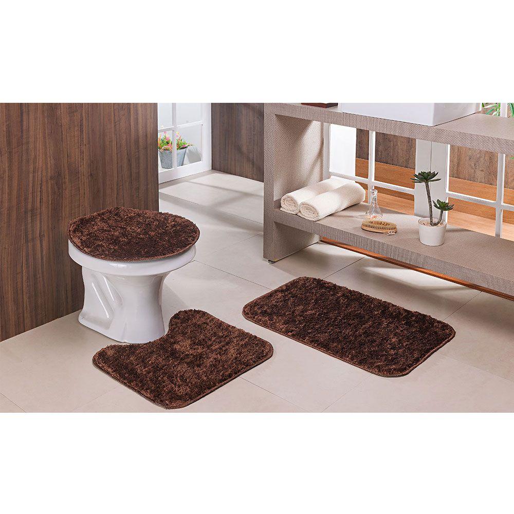 Tapete Passadeira 50 X 200 E Banheiro Classic Castor