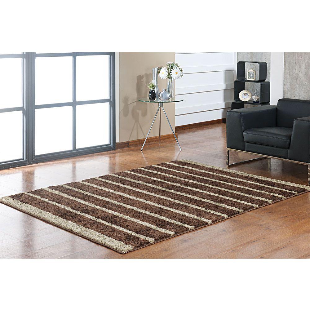 Tapete Sala 150 x 200 Classic Design Marrom