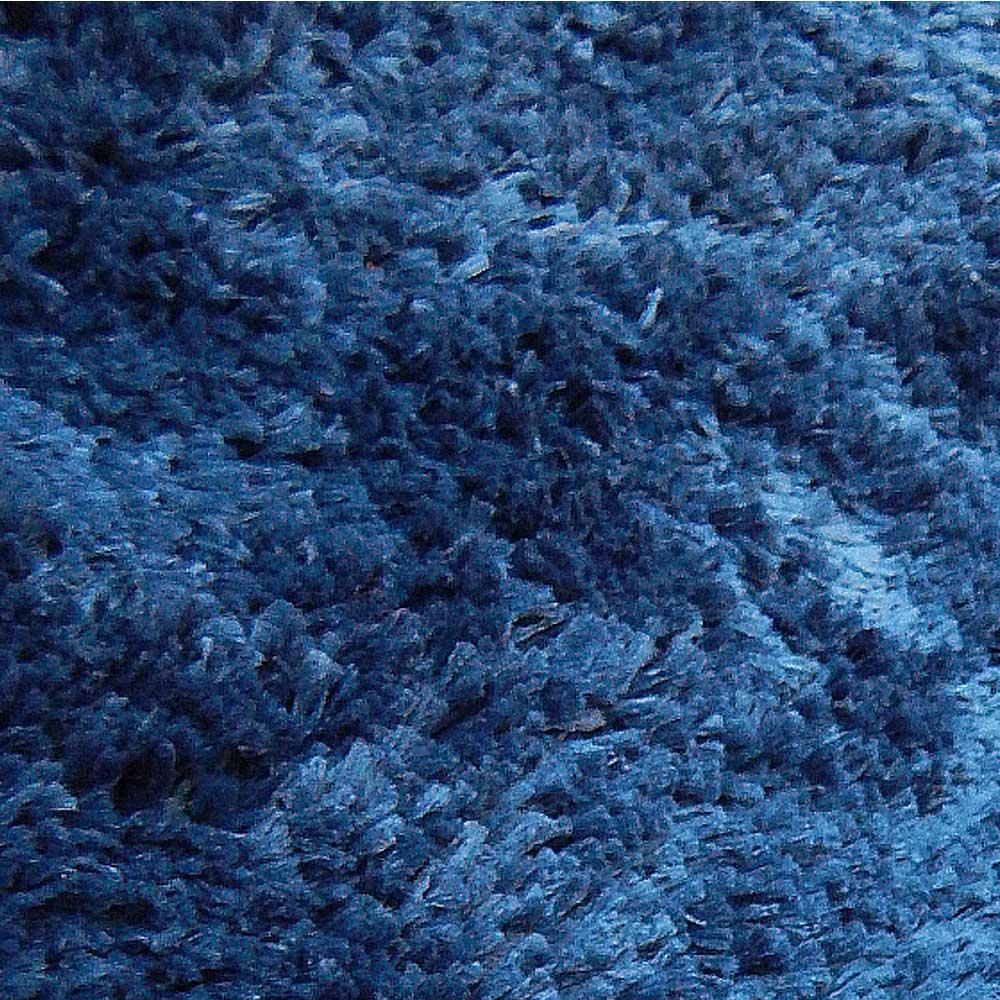 Tapete Sala Redondo 200m Classic Azul Jeans