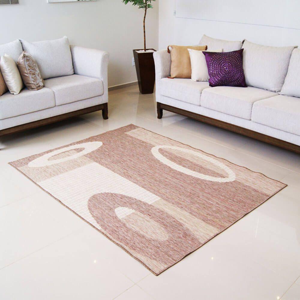 Tapete Sala Sisal Look 93 C Rayza 100 x 150 cm