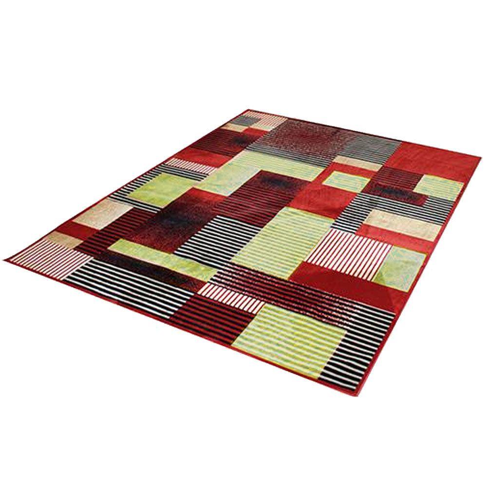 Tapete Sala 100 x 150 cm Veludo Marbella Illusione 62 Rayza