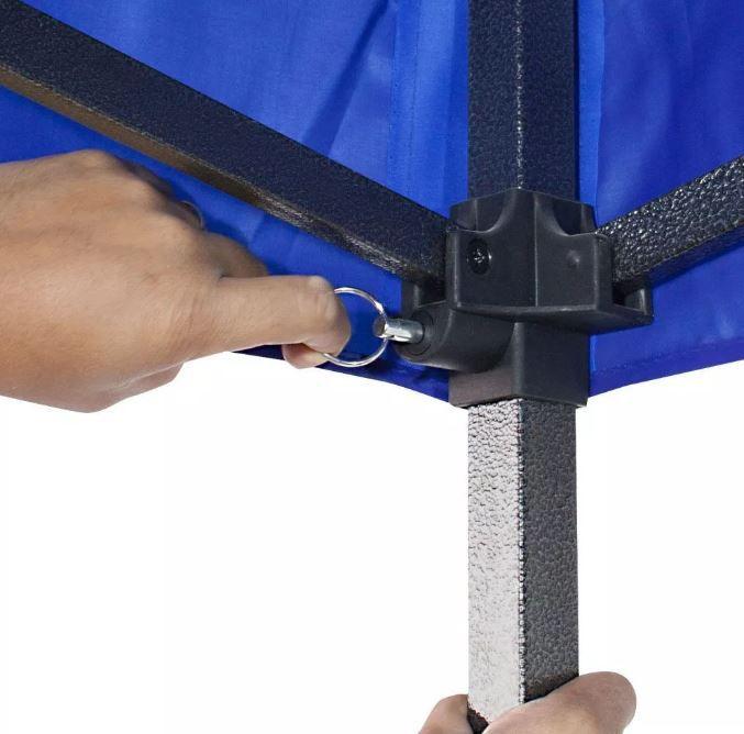 Tenda Gazebo Articulado 3 x 3 Lazer Magnixx Azul Nautika
