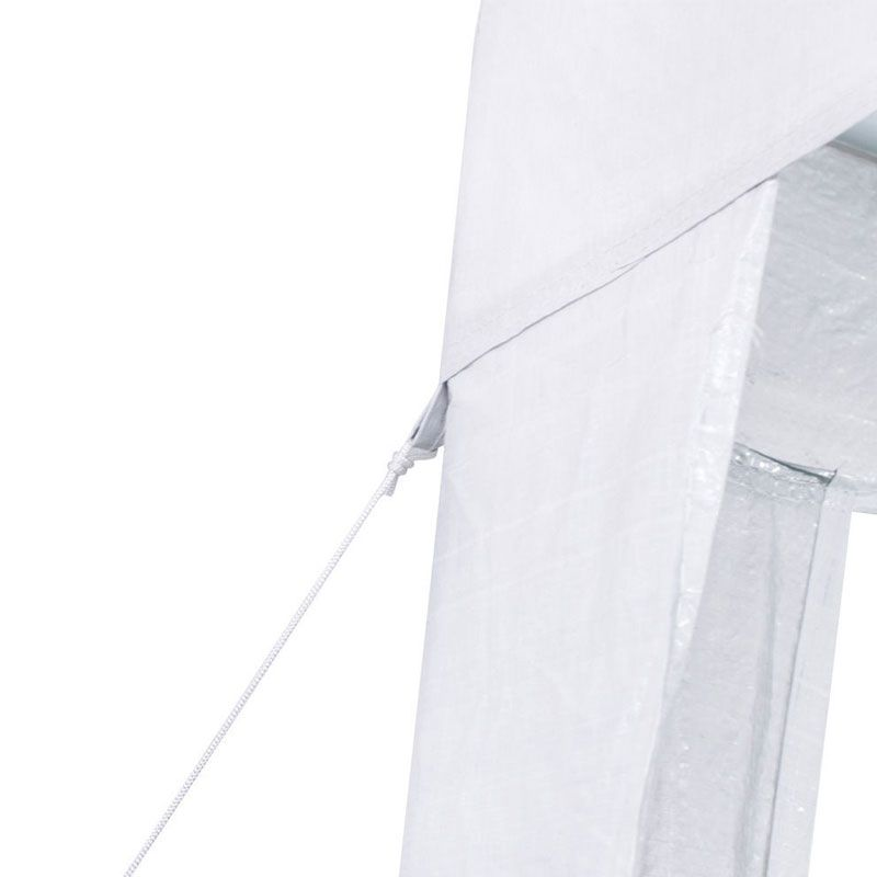 Tenda Gazebo Desmontável 3 x 3 Lazer Fiesta Branca Nautika