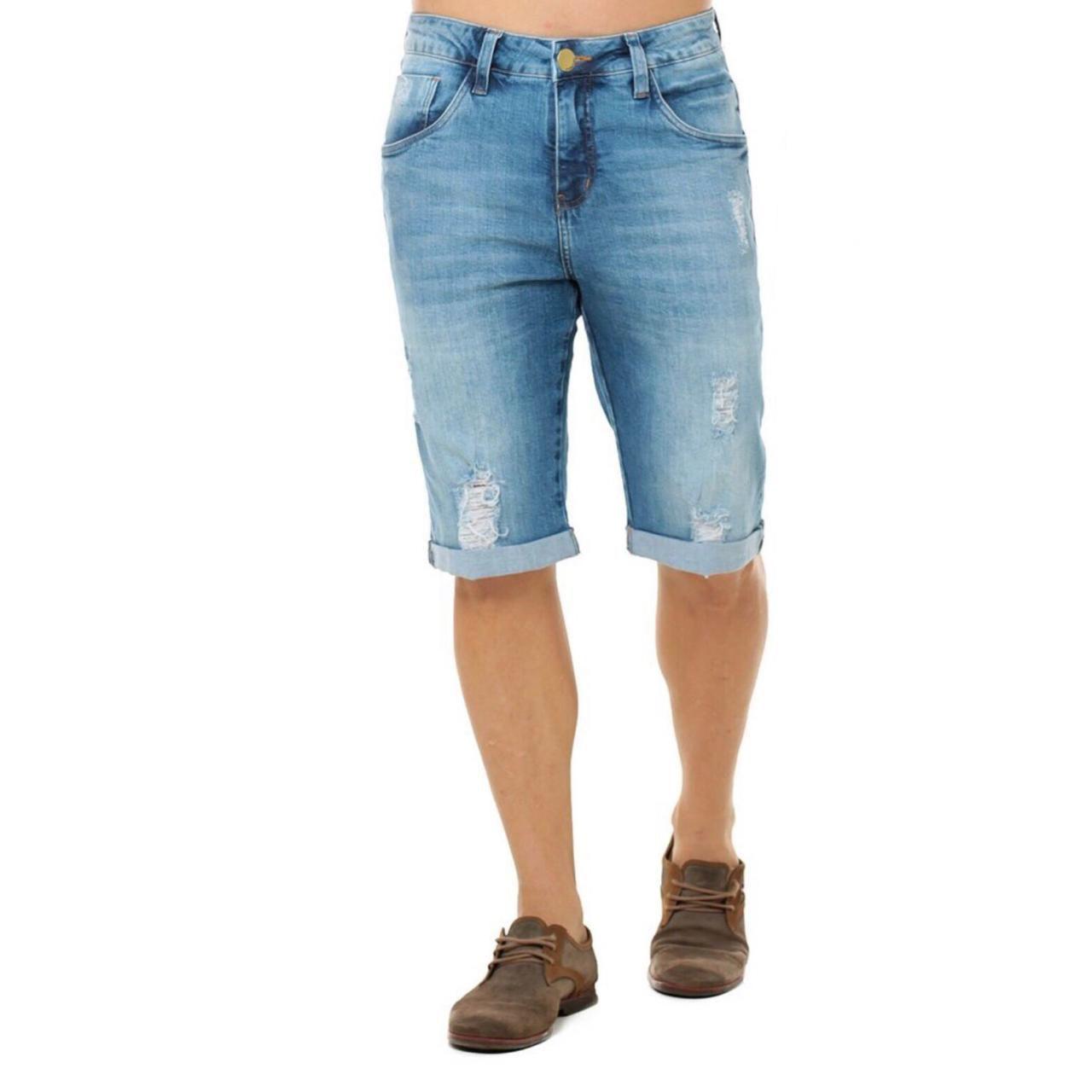 b52ca7a79 Bermuda Jeans Masculina Eventual Mid Drop Eventual - Tequila Store