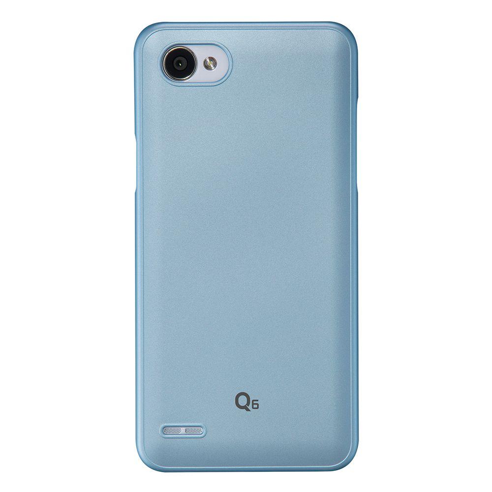 a5d634ca89 Capas Q6 - Capa LG Q6 Capinha Protetora SF Hard Clean-UP Platinum