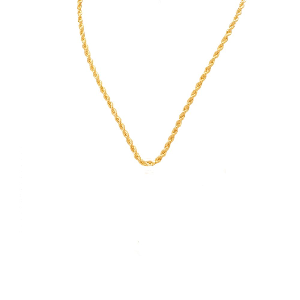 Corrente Cordão Baiano Banhado com ouro 18k com 45 cm e454eb2737