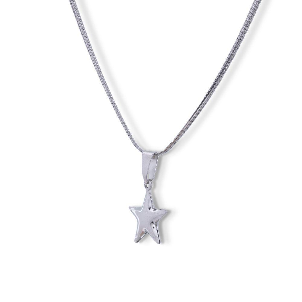 Pingente estrela  Aço inox Cirúrgico
