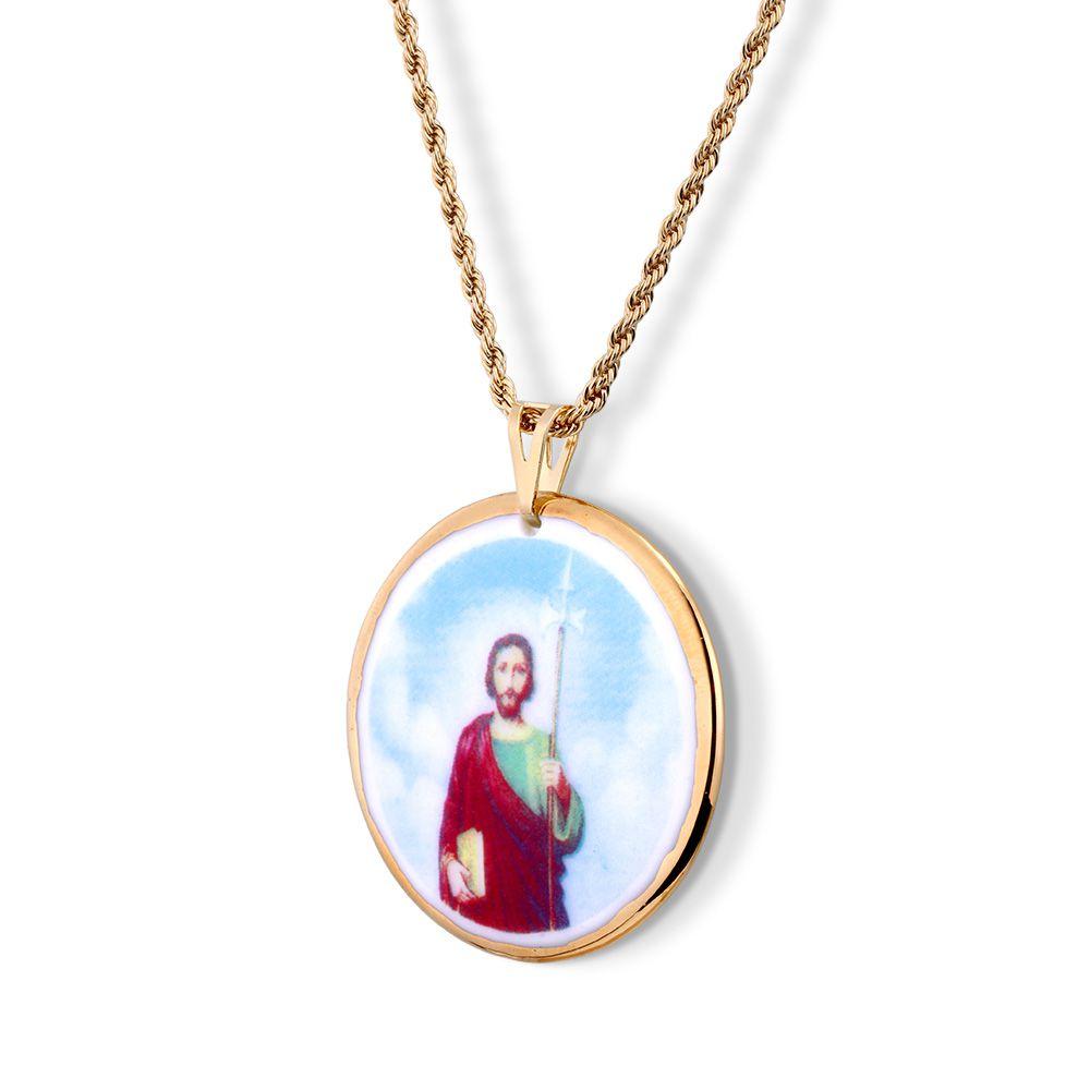 Pingente Medalha São Judas Tadeu